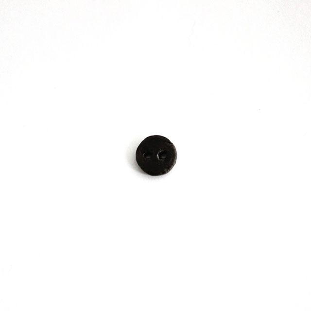 Atelier LInk 陶器でできた釦 【無患子(むくろじ)  11mm  3個】