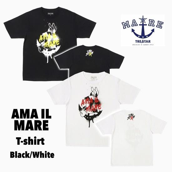 TRE☆STAR『トレスター』AMA IL MARE Tシャツ