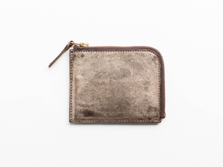 トワクレZipper Wallet Shortブラウン