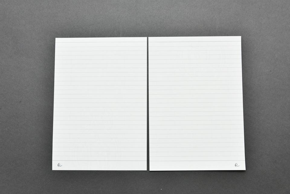 オリジナルリングノート詰め替え用リフィル(細罫線)