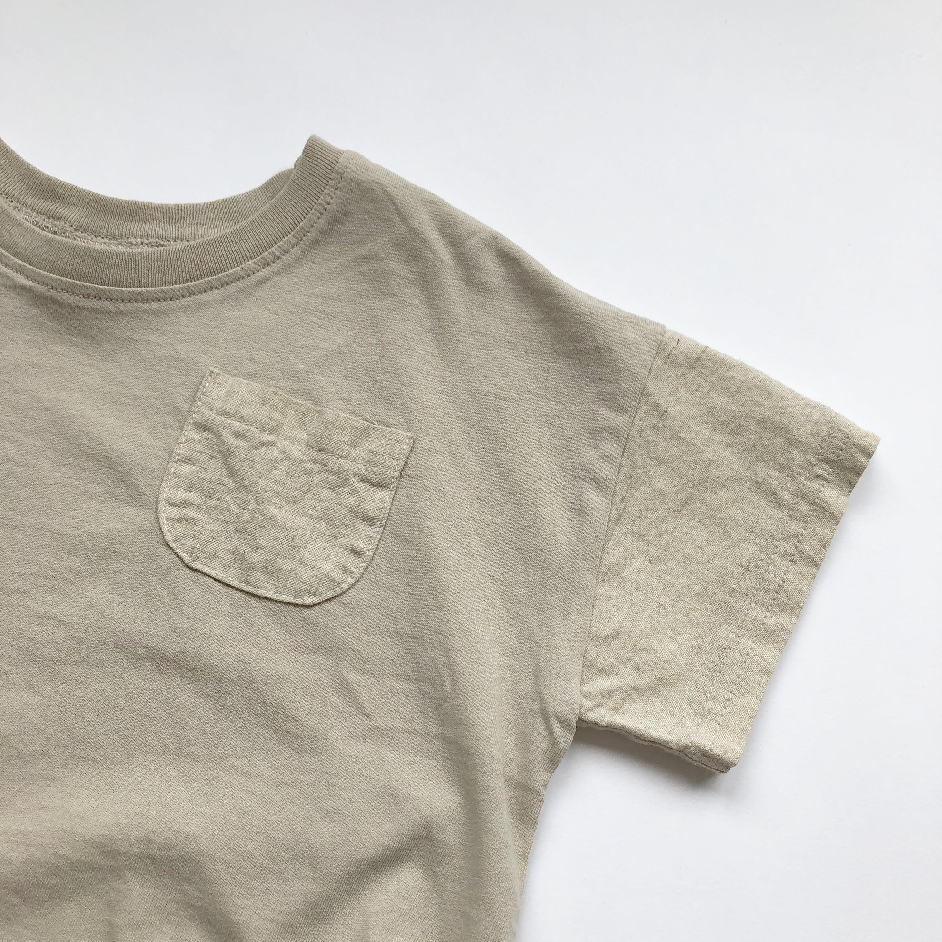 《 173 》Simple linen T