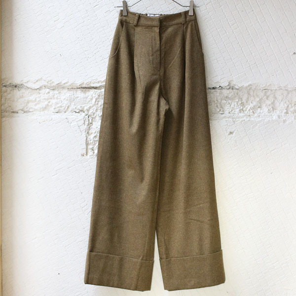 【KINDER SALMON】 Wide Pants