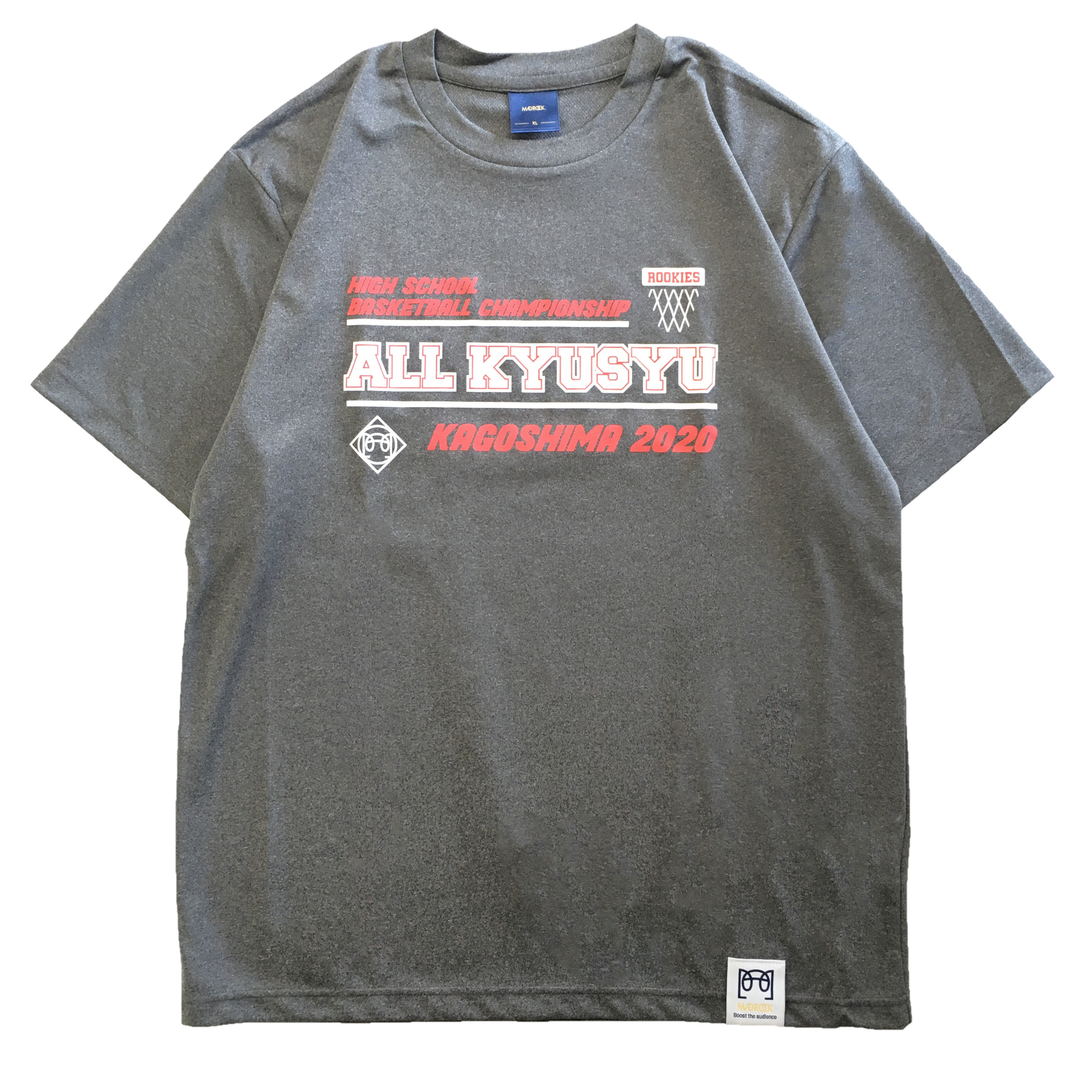 【記念Tシャツ】マッドロック / 九州新人大会記念  Tシャツ / ヘザーグレー