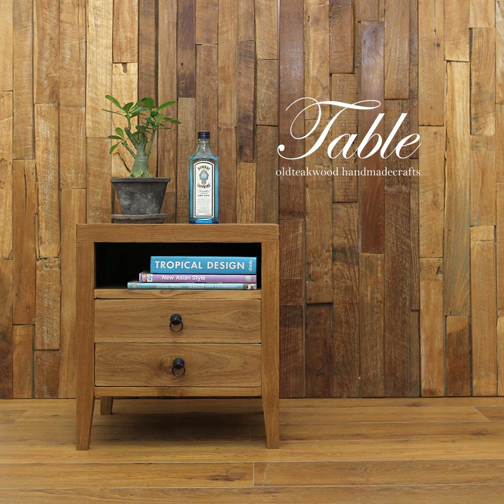 ●送料無料●チーク材の上品なサイドボード! 総チーク材 天然木  無垢材
