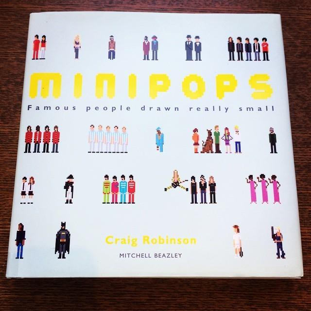 イラスト集「Minipops/Craig Robinson」 - 画像1
