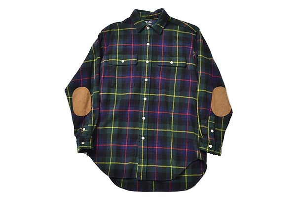 Ralph Lauren sizeL putchwork wool shirts