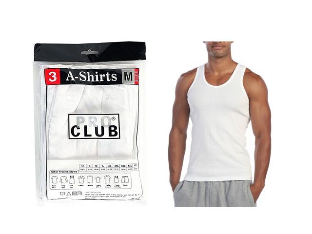 Pro Club|3 Mens Tanks (3枚パックタンクトップ)