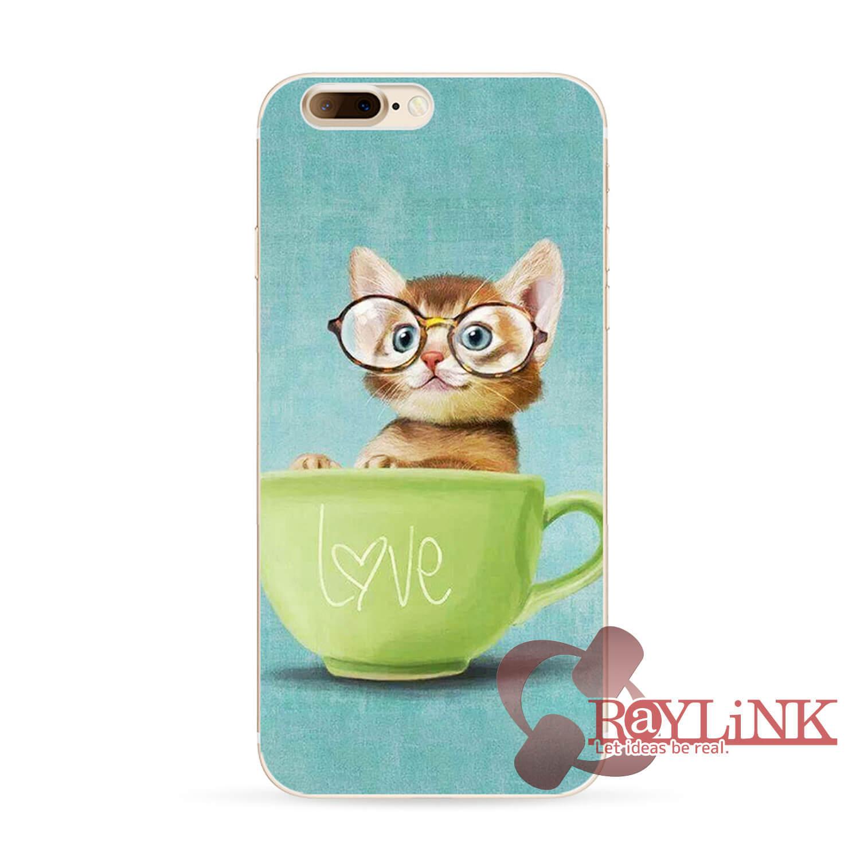 【スマホケース】iPhone7用猫柄ケース