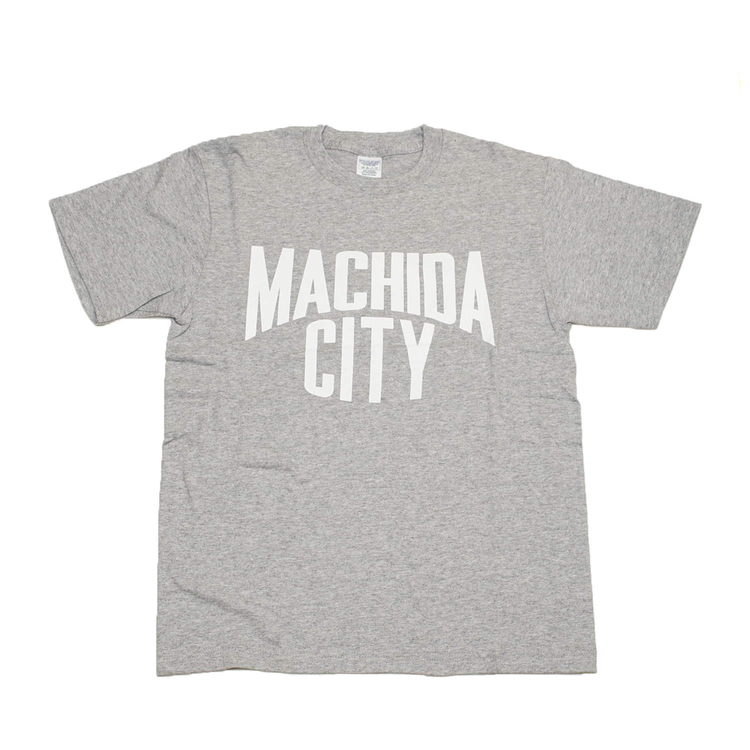 MACHIDA CITY TEE (HEATHER GREY)