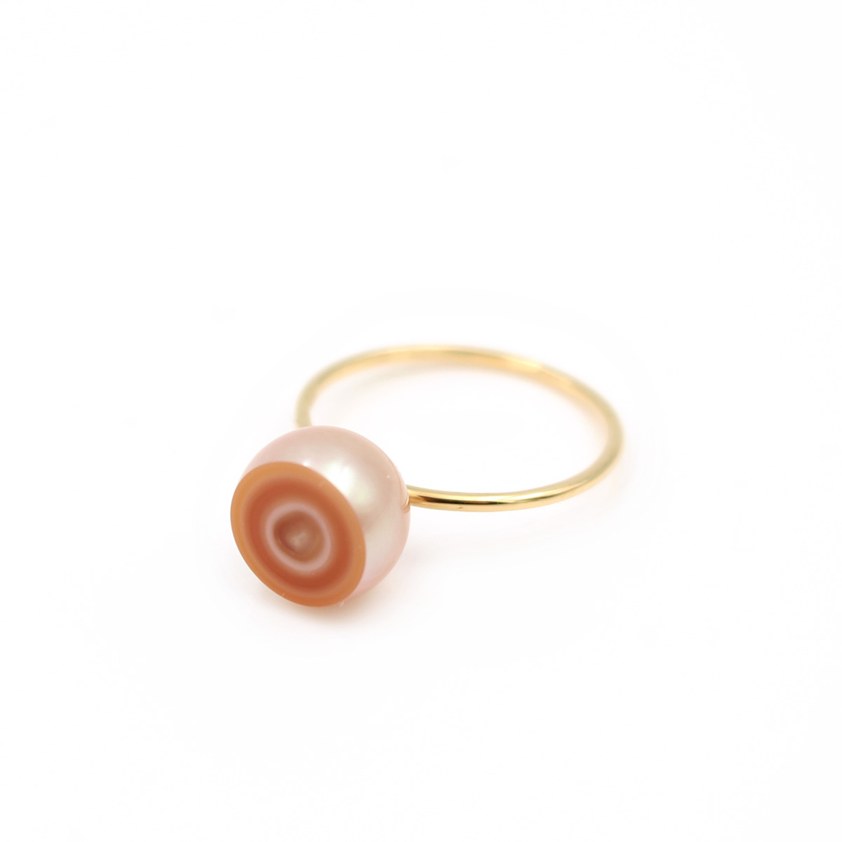 【Limited】Pattern Pearl Ring(5e-9)