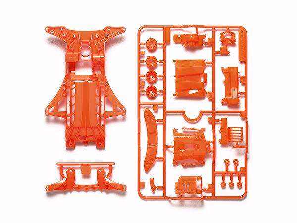 FM-A蛍光カラーシャーシセット(オレンジ)