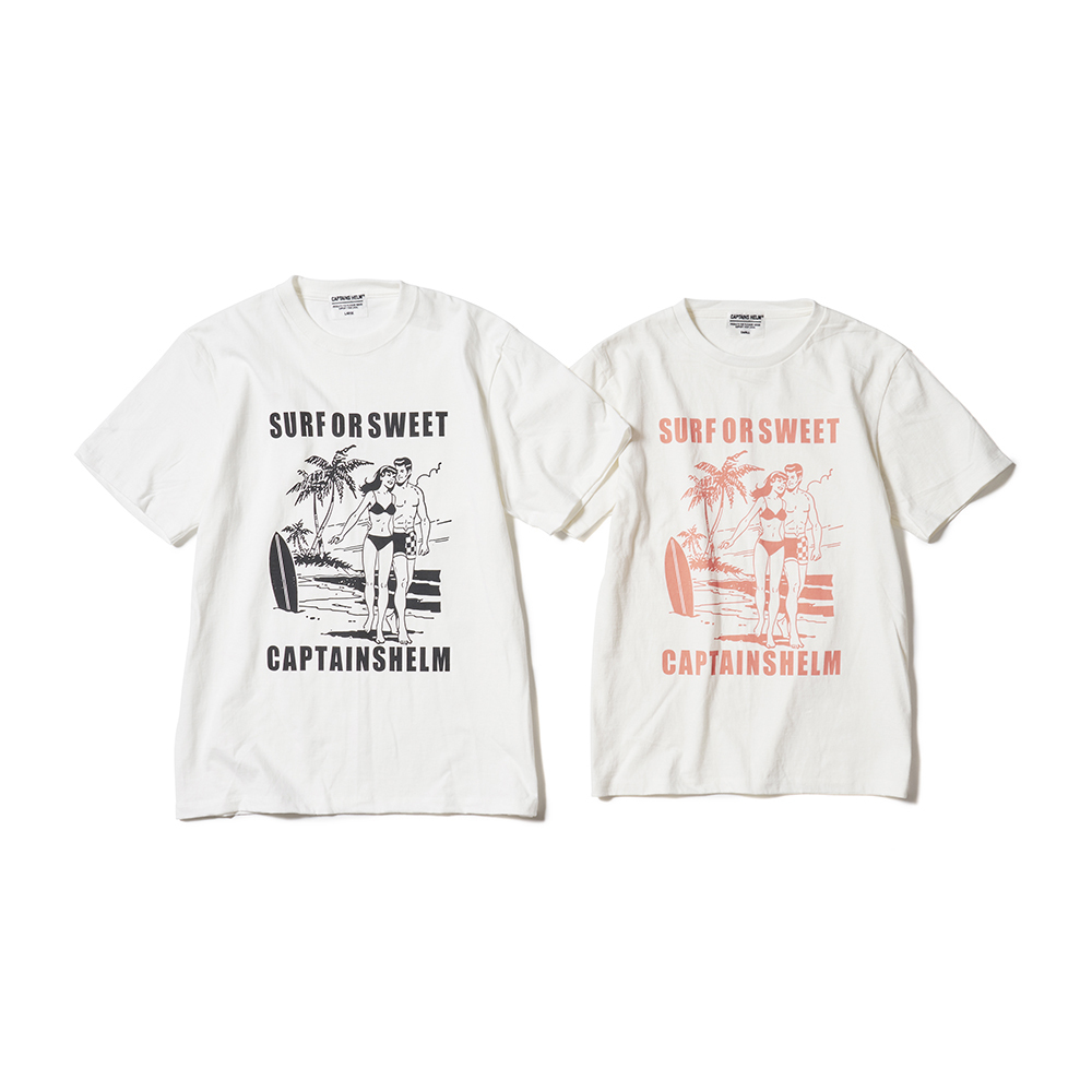 CAPTAINS HELM #Captain's Life Tee-Surfing