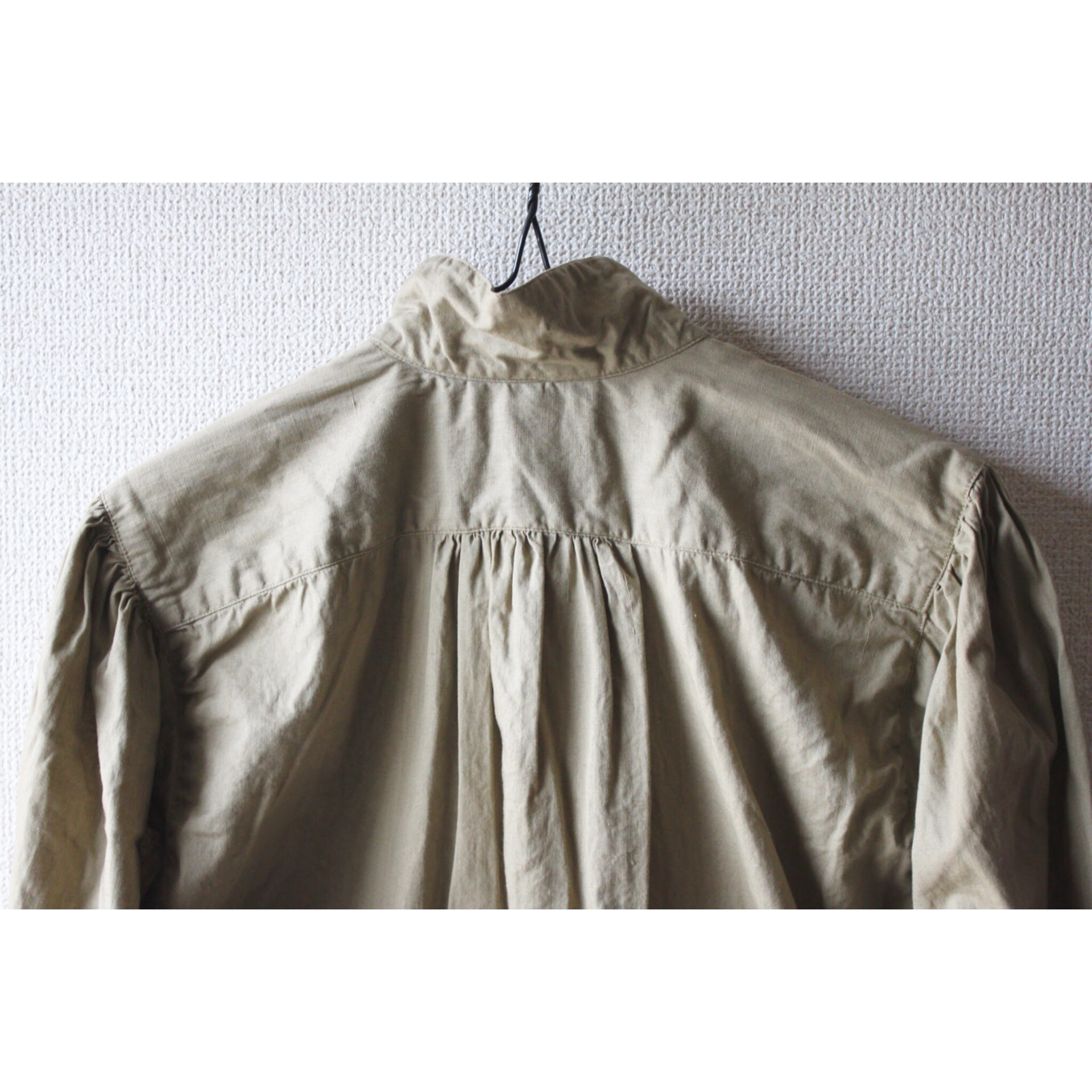 Vintage shawl collar shirt