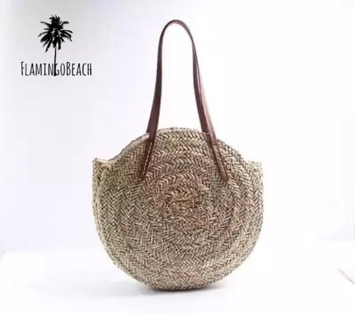 【FlamingoBeach】big circle bag サークルカゴバック