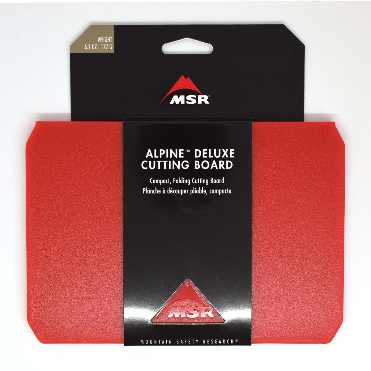 MSR ALPINE DX CUTTING BOARD アルパインDXカッティングボード