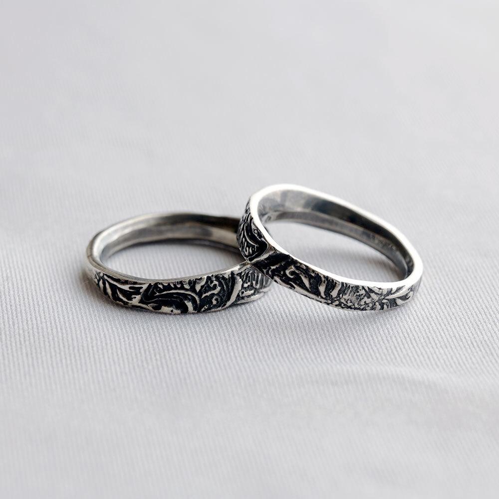 HRR010SV / Arabesque ring (silver)