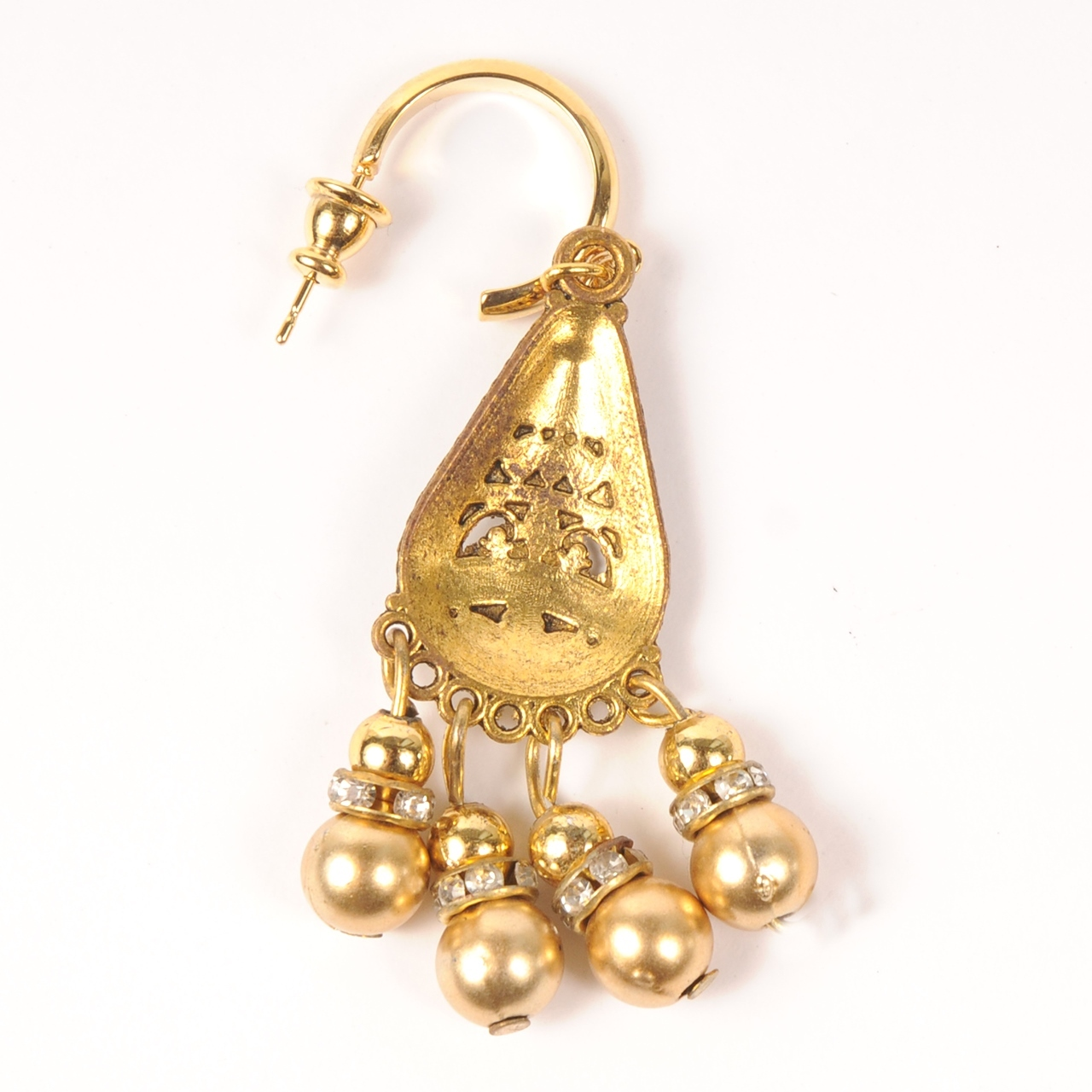 ◆ご予約商品 hs20SS-IRJ02 MOTIF PIERCE -B (gold)