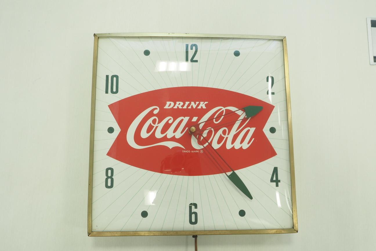 品番0547 ヴィンテージ コカ・コーラ時計