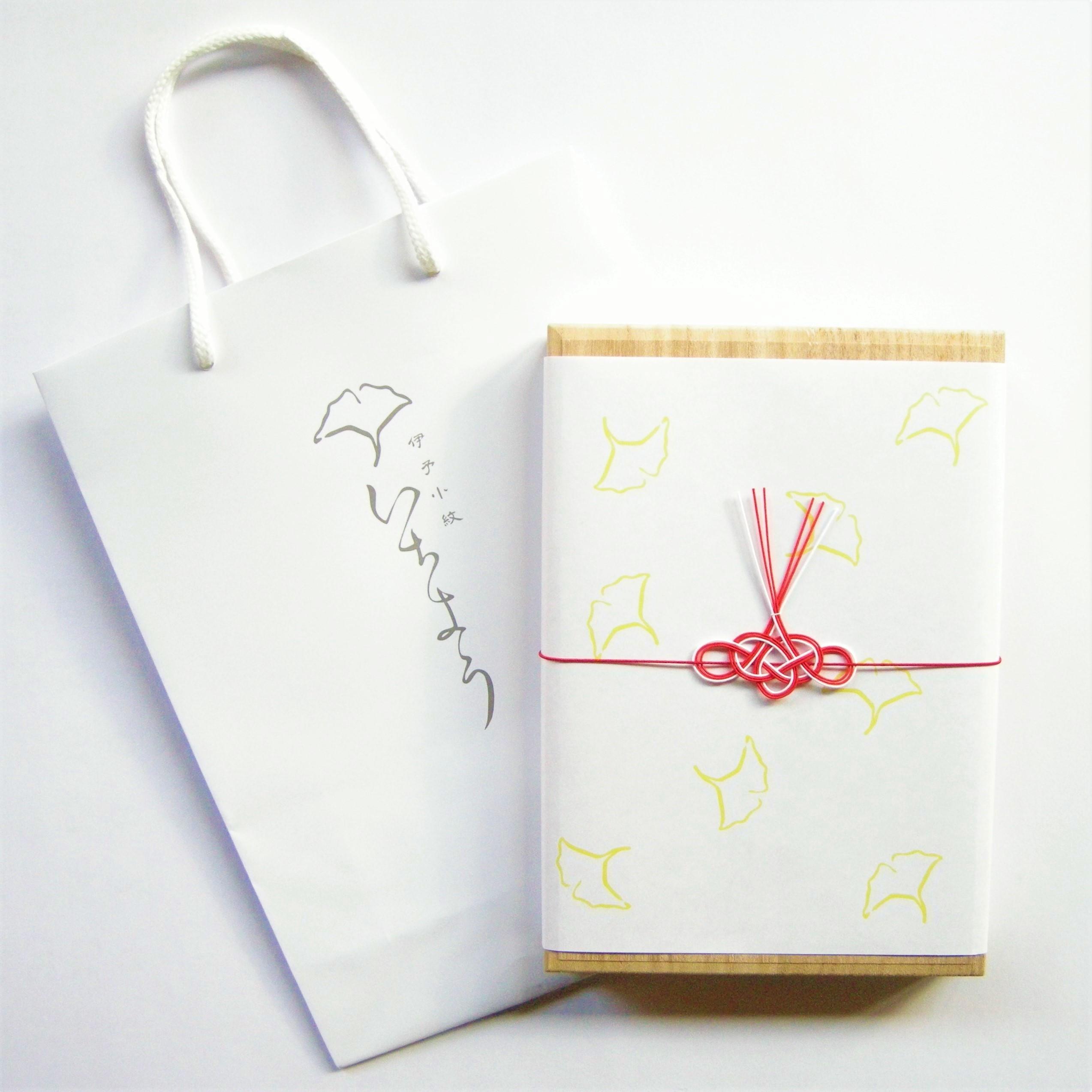 ふくさ ギフト〈 伊予水引・紙袋セット 〉