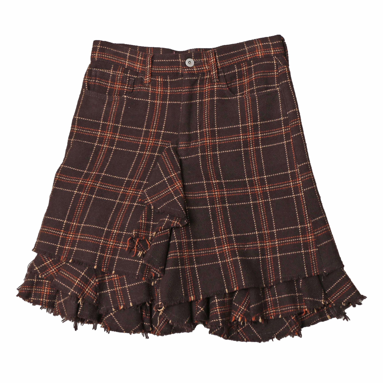 JUNYAWATANABE COMMEdesGARCONS MAN WoolCutOff Skirt