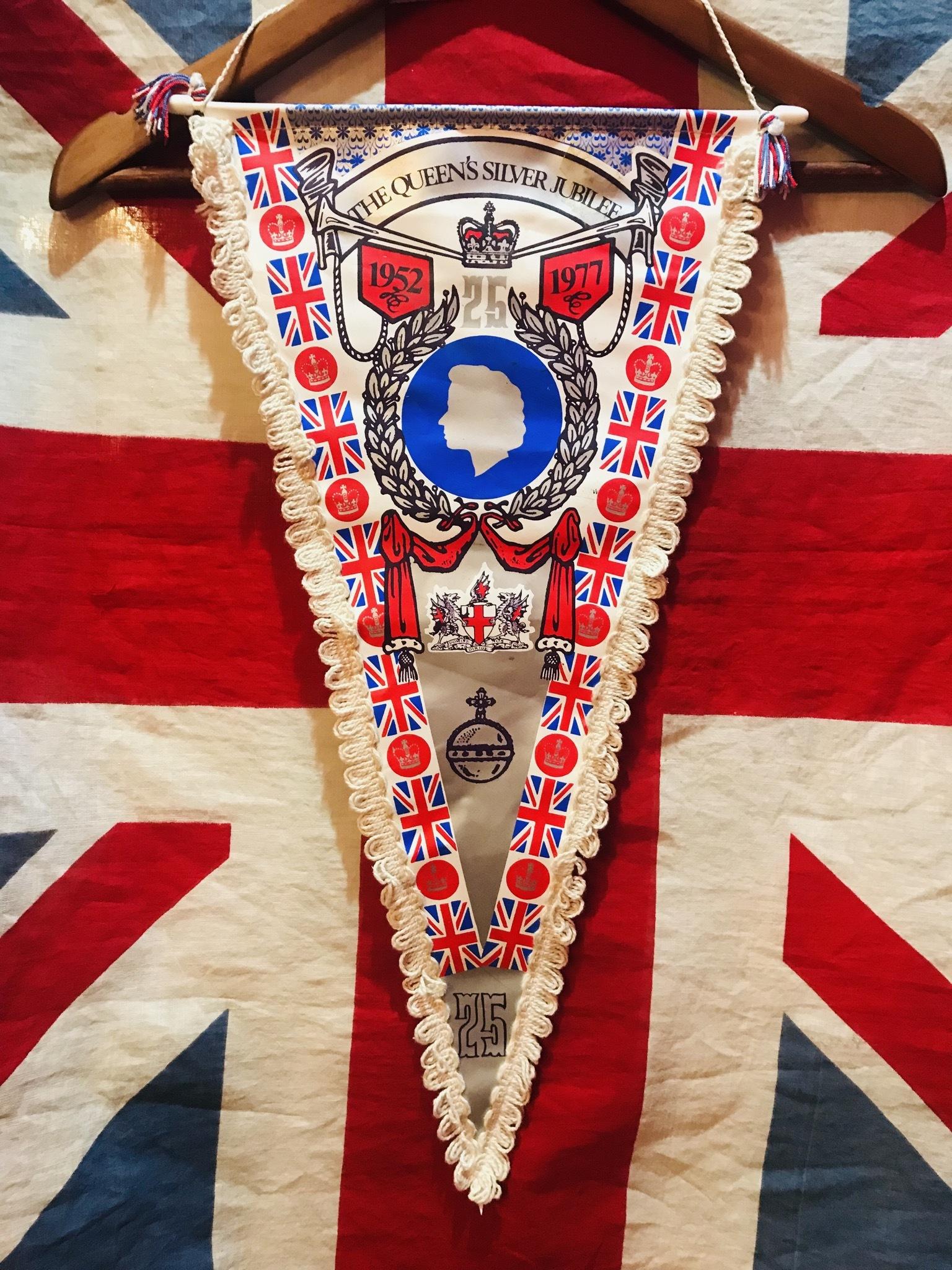 英国Silver Jubilee1977タペストリー