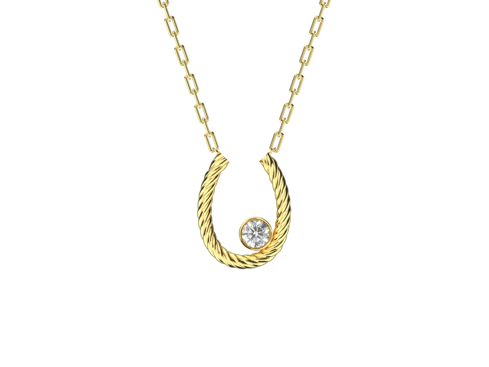 K18YG Necklace