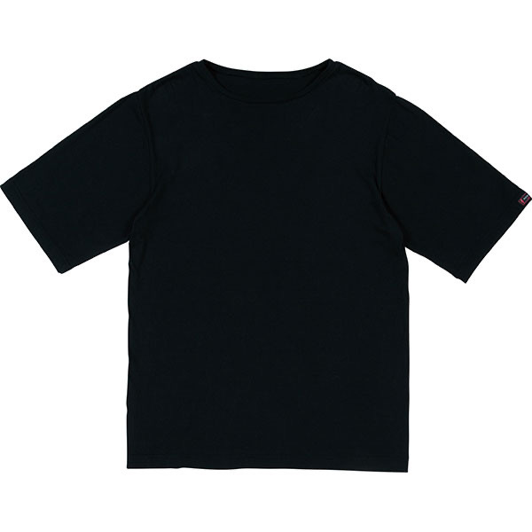 BLACK C/S T-SHIRT