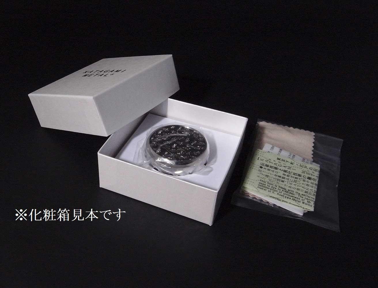 カタガミメタル宝物入れ 赤富士 KA-141/Fuji