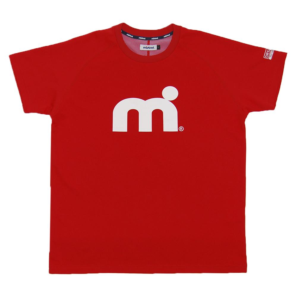 ミストラル メンズ [ HP-DRY 半袖Tシャツ -エムドット- ] RED