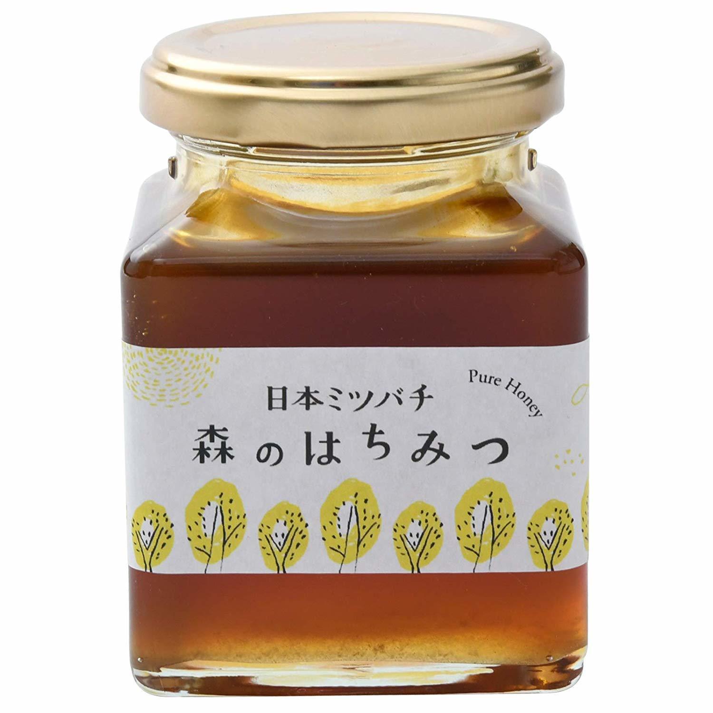 森のはちみつ 日本ミツバチの蜂蜜 200g