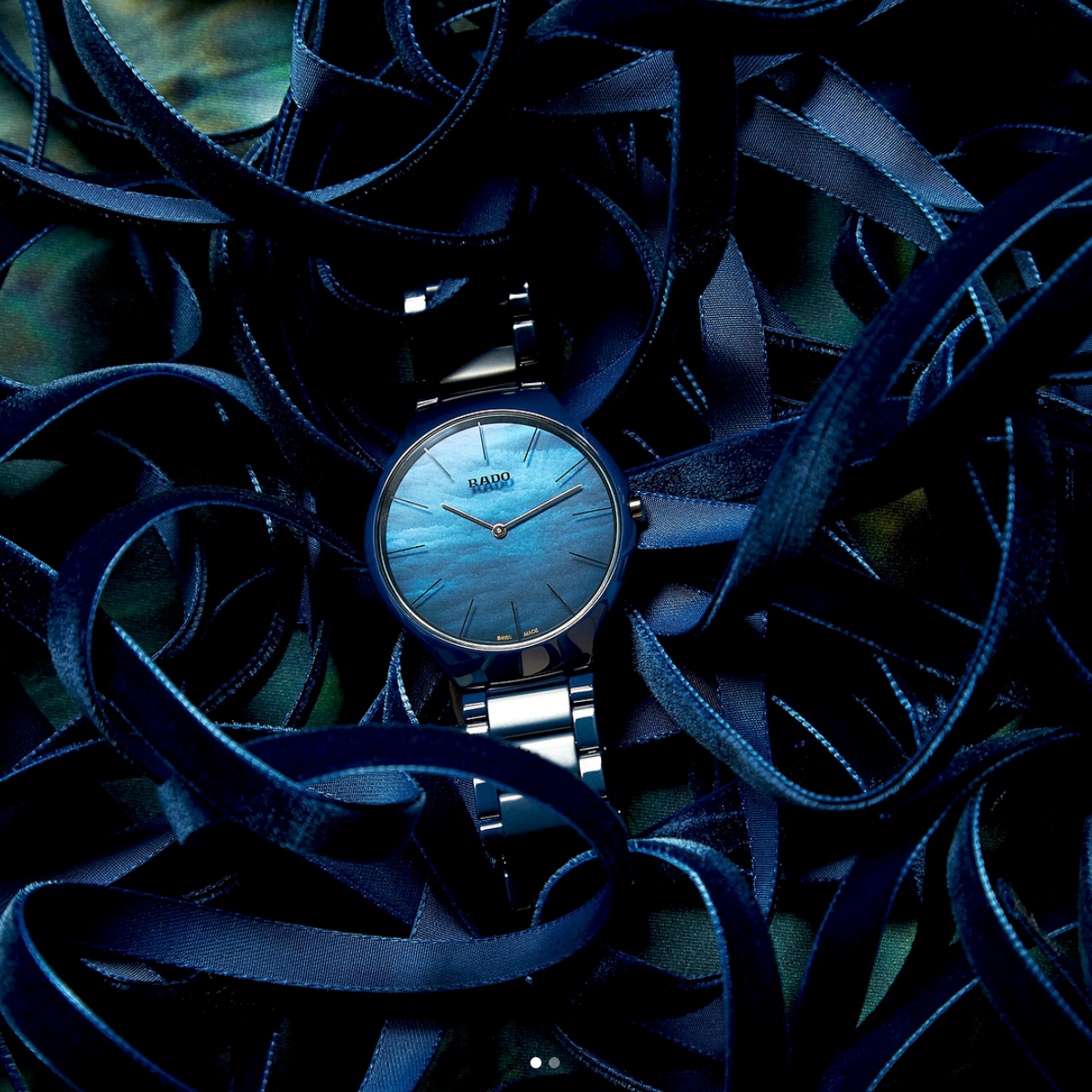 【RADO ラドー】True Thinline Water/トゥルーシンライン(ウォーターブルー)/正規輸入品