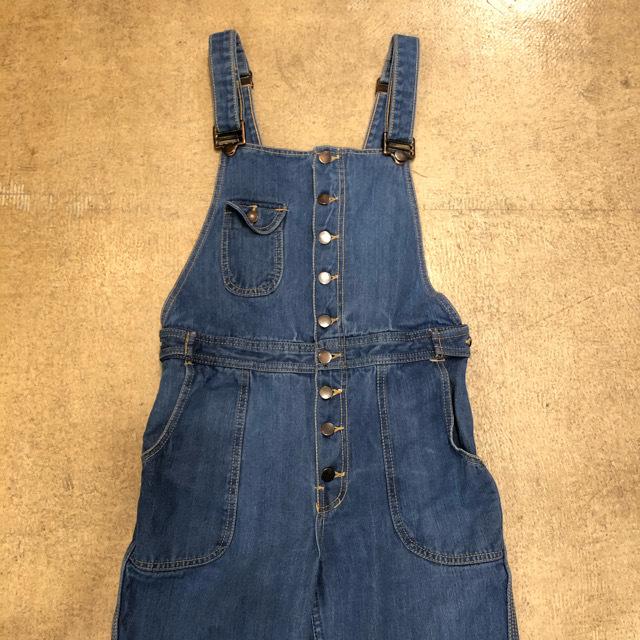 Vintage Flare Overalls ¥10,800+tax