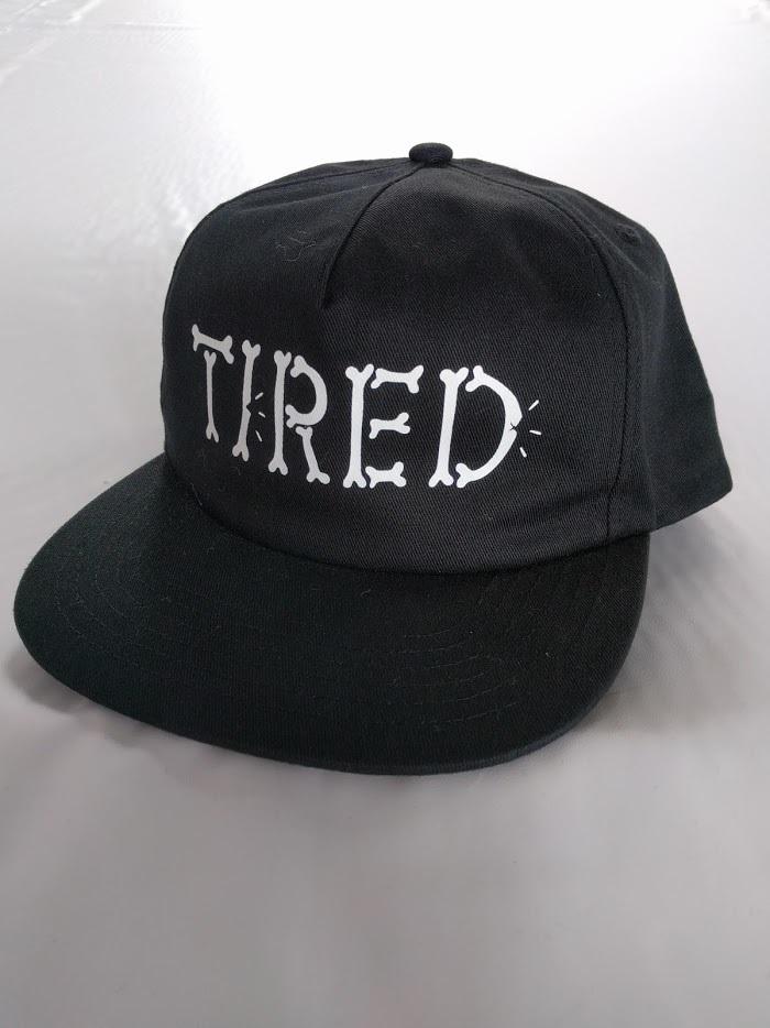 Tired(タイレッド)BONES EMBOIDERED HAT カラーBLACK