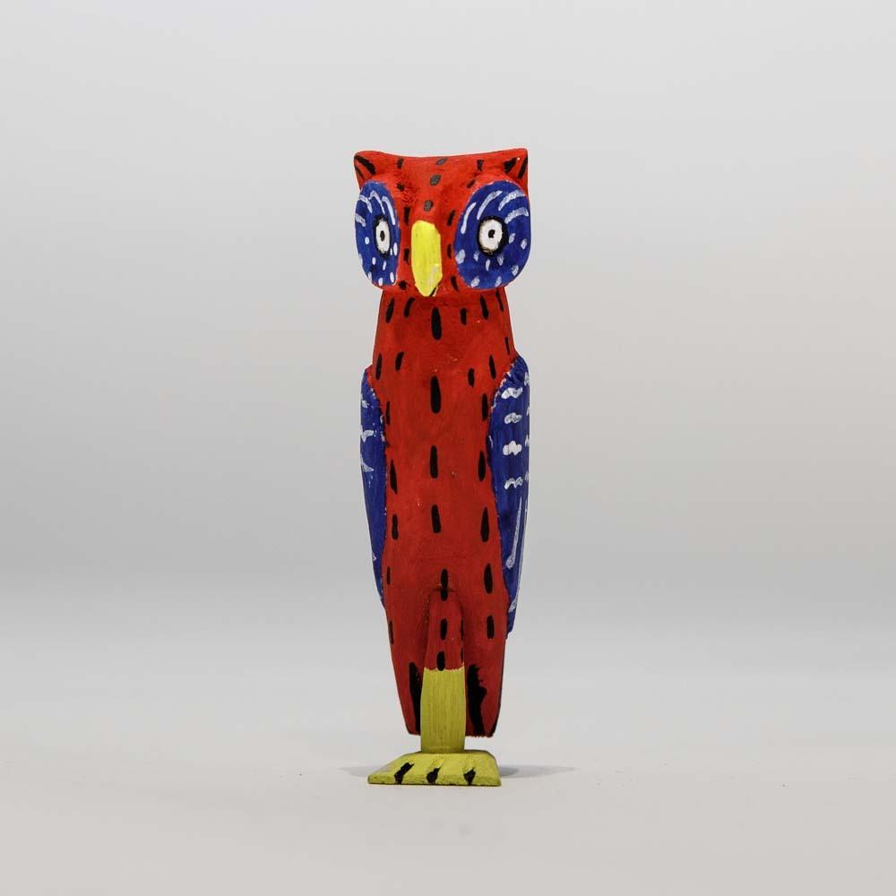 Alebrijes Owl-Red