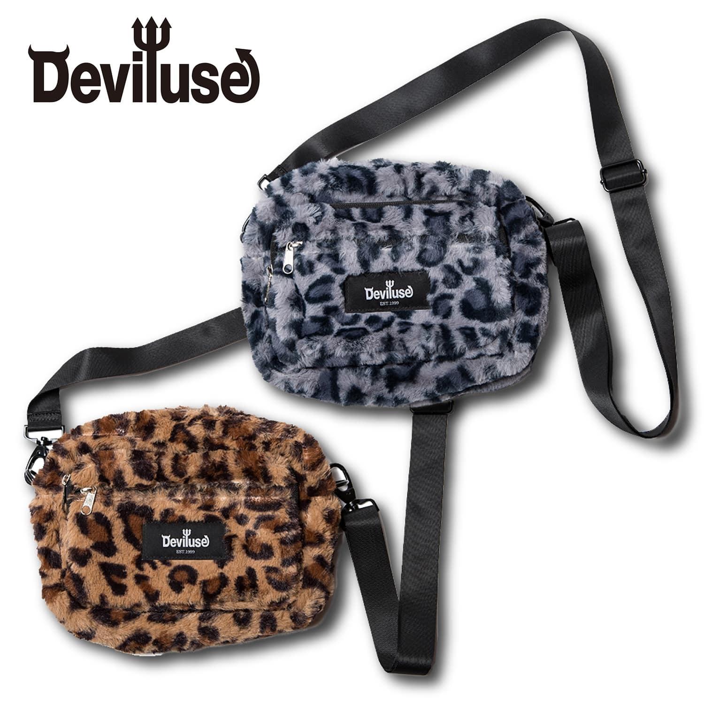 Deviluse(デビルユース)   Leopard Shoulder Bag