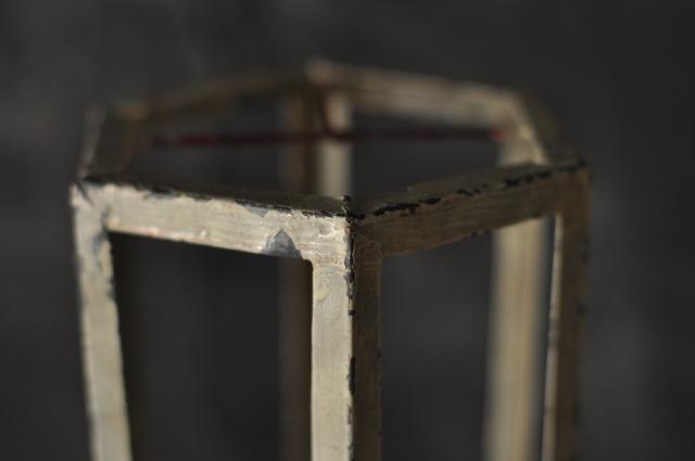六角柱オブジェ