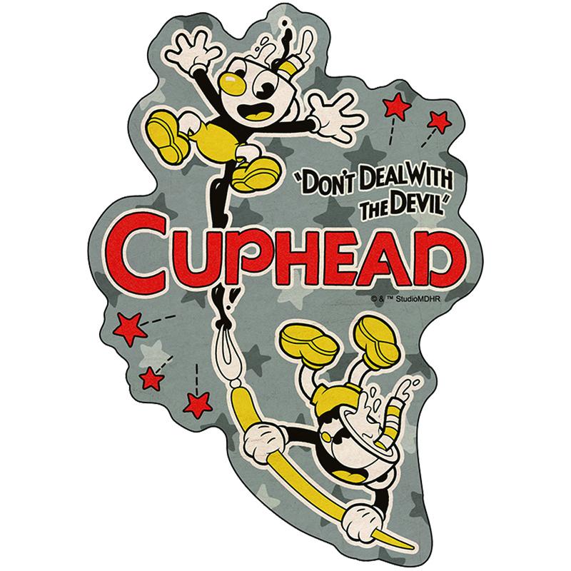 CUPHEAD ( カップヘッド ) トラベルステッカー⑪ / エンスカイ