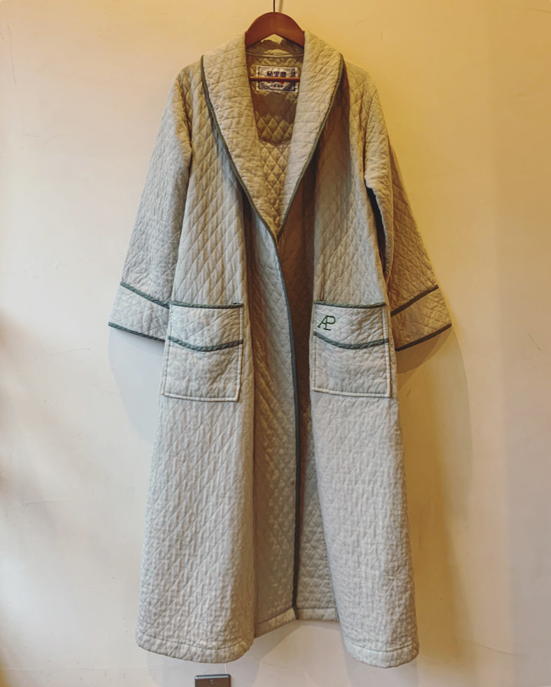 vintage quilting gown