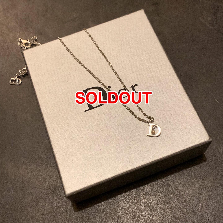 promo code 38562 eebef Dior ディオール ネックレス シルバー パール CD クリスチャンディオール | thrift shop ROOM powered by BASE