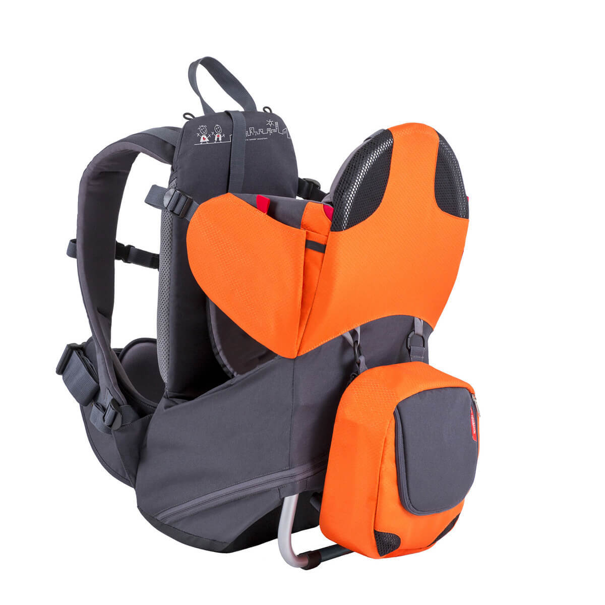 phil&teds parade baby carrier Orange パレード フィルアンドテッズ