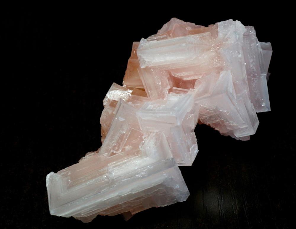 ピンクハーライト カリフォルニア産 85g 岩塩 PH035