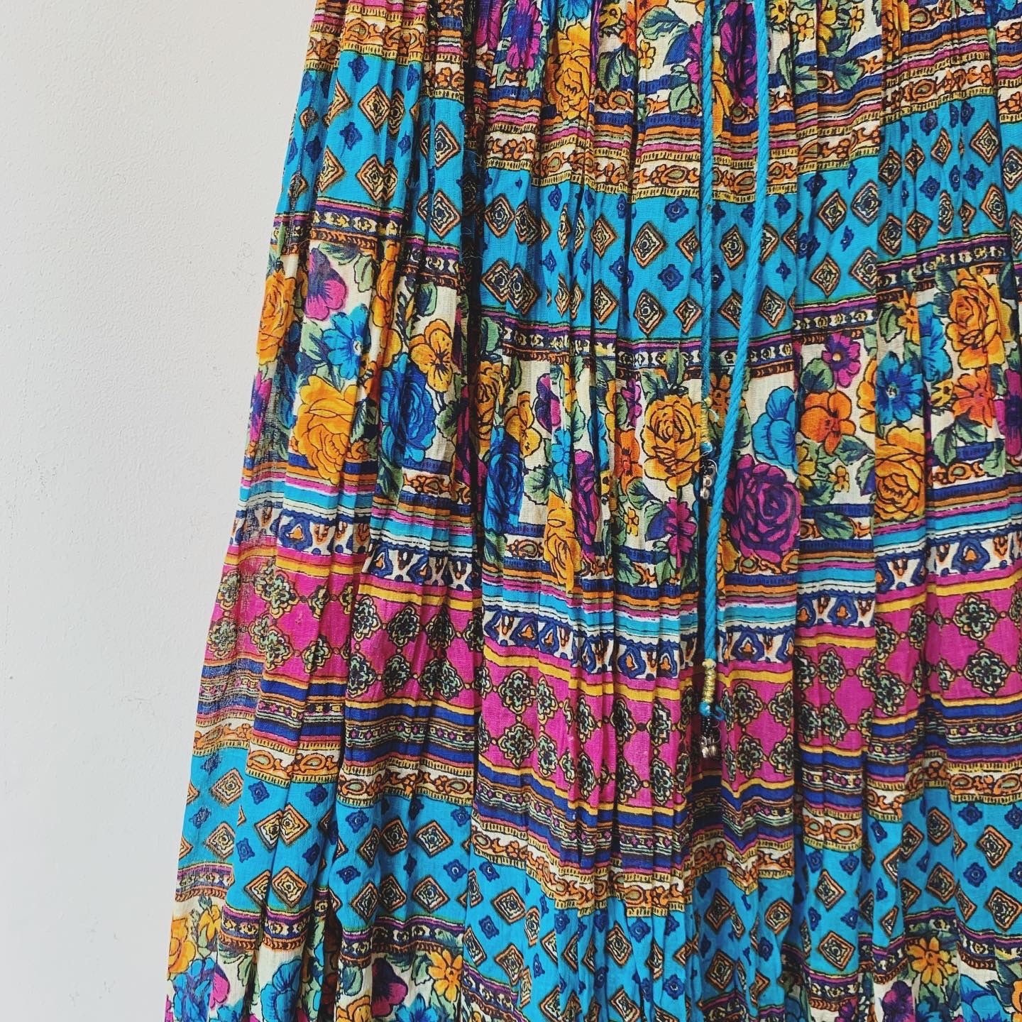 vintage Indian cotton skirt
