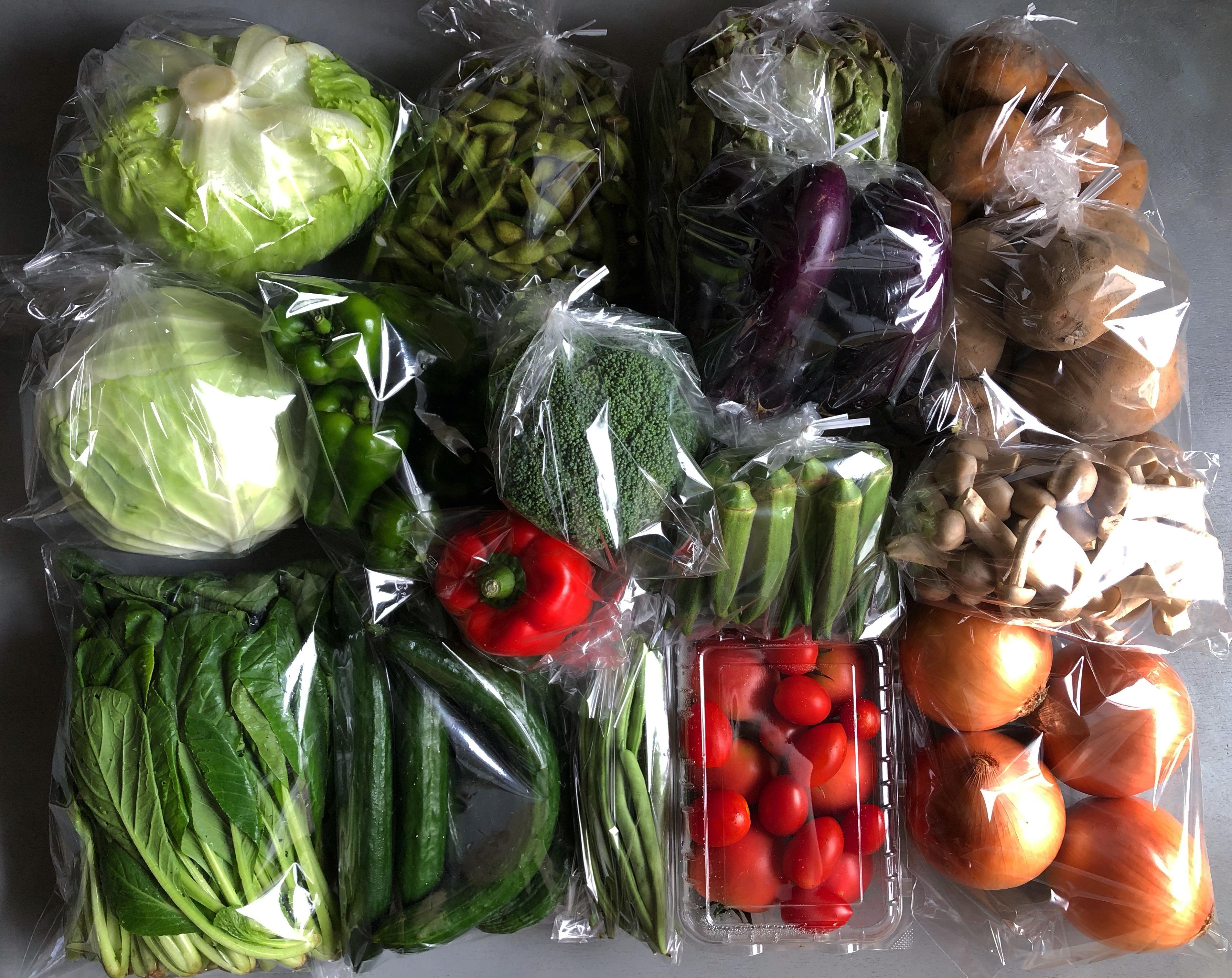 京野菜セットB+精米2kg