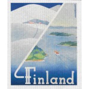 キッチンワイプ「フィンランド夏と冬」
