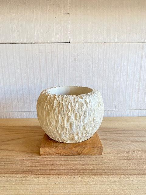 ストーンポット(Φ13cm×H10cm)