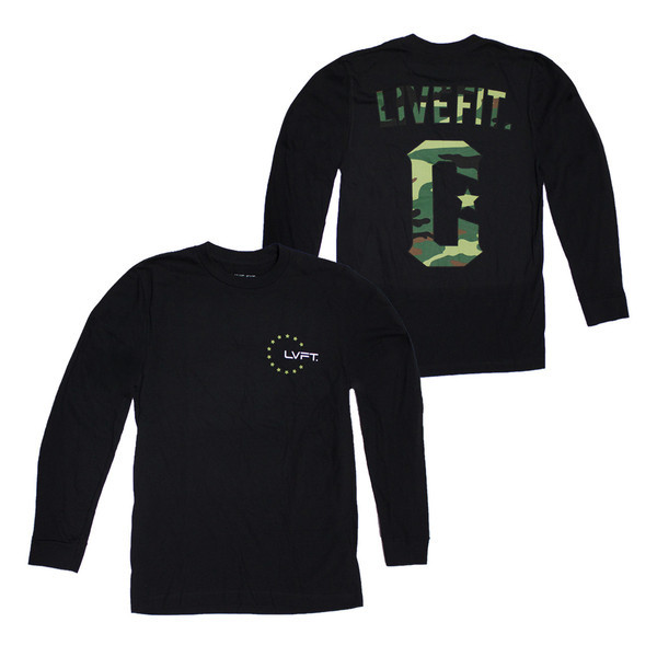 LIVEFIT Militant Long Sleeve – Black VF4500