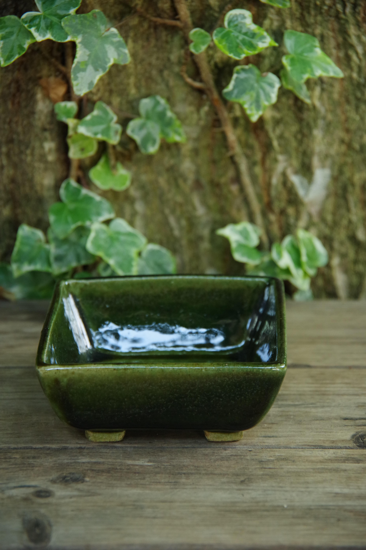 オリベ角形植木鉢②【ねぎし よねお】