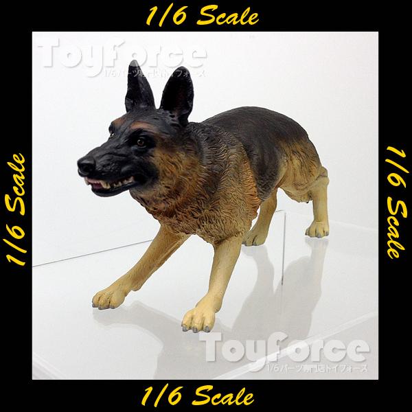 【02887】 1/6 ToysCity ジャーマンシェパード 軍用犬