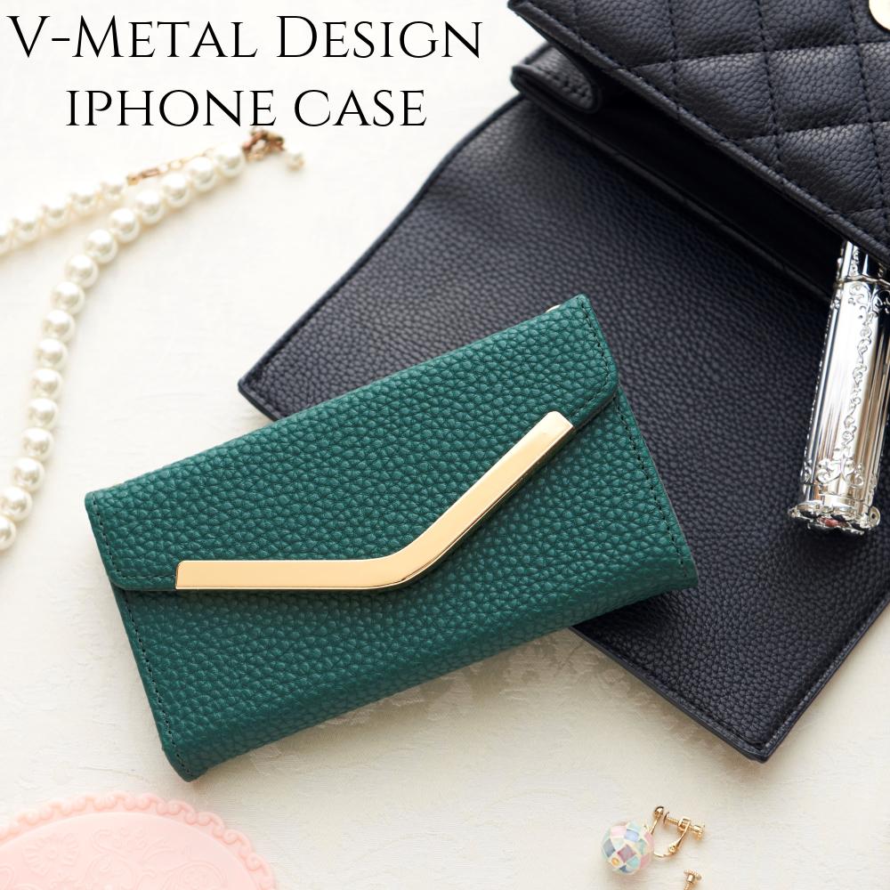 iphoneケース 手帳型 iphone11 iphone 11Pro カバー ミラー付き iphoneXR iphonexXs iphone8 かわいい スマホケース アイフォン 11 プロ おしゃれ シンプル 大人可愛い グリーン