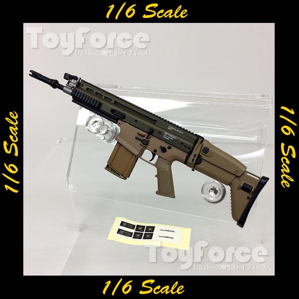 【05621】 1/6 ライフル SCAR Easy & Simple